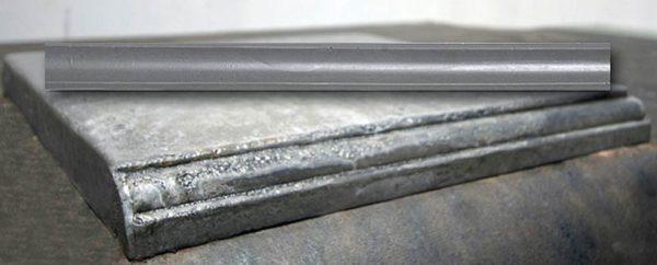 E20721R Quarter Round Edge Mold