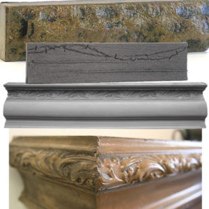 FirePlace / BackSplash Molds