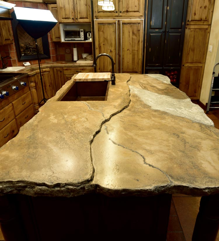 Decorative Concrete Resurfacing Concrete Countertops System