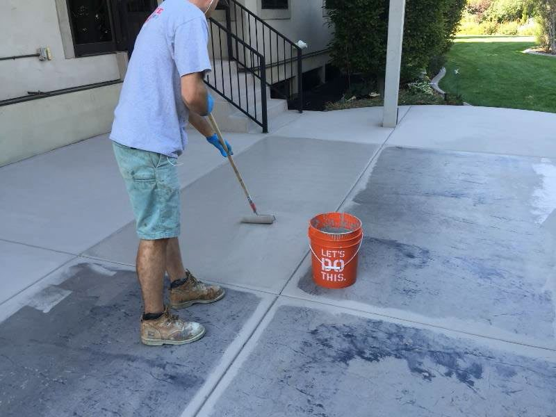Concrete Resurfacing With An Effective